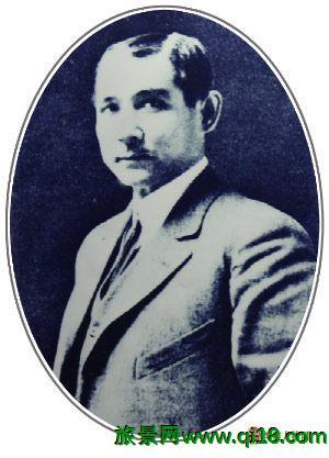 1896年的孙中山